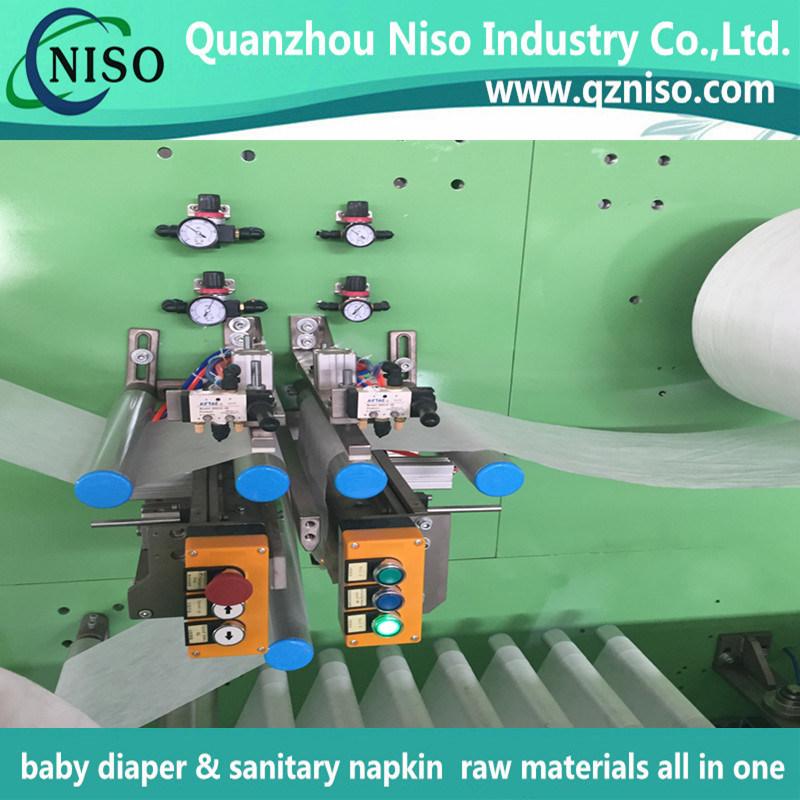 Full Servo Automatic Lady Ultra-Thin Sanitary Napkin Machinery with Ce Certification