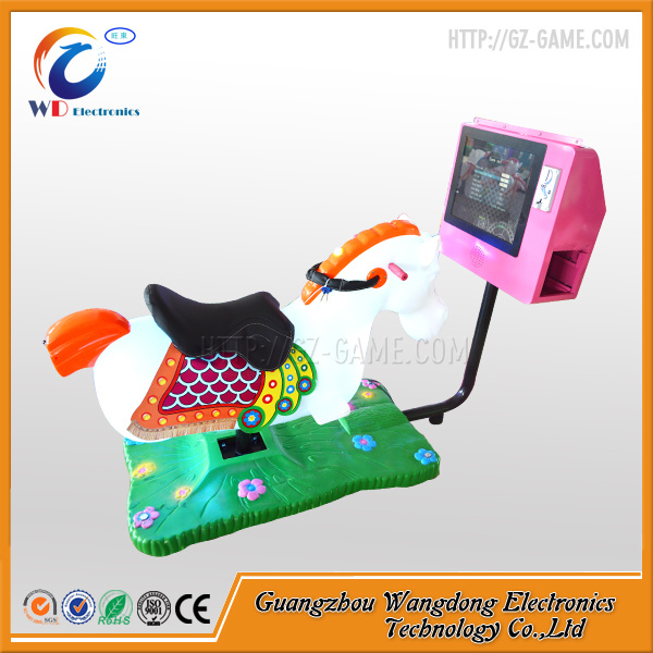 Cheap 3D Video Game Coin Operated Horse Ride