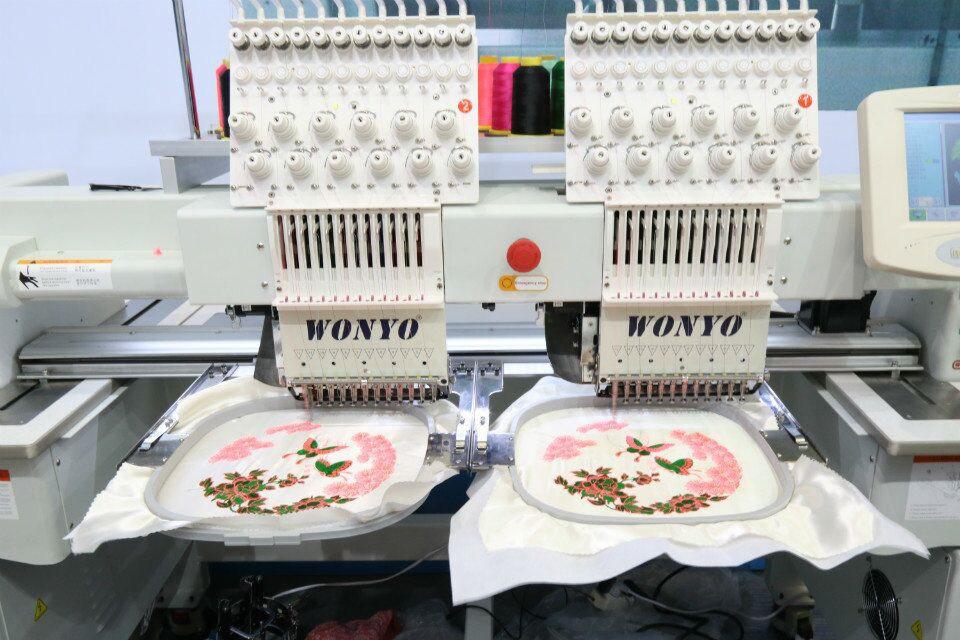 2017 Wonyo 902c 2 Heads Cap Tshirt Portable Embroidery Machine