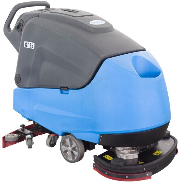 Robust Walk-Behind Scrubber Dryer Heavy Duty