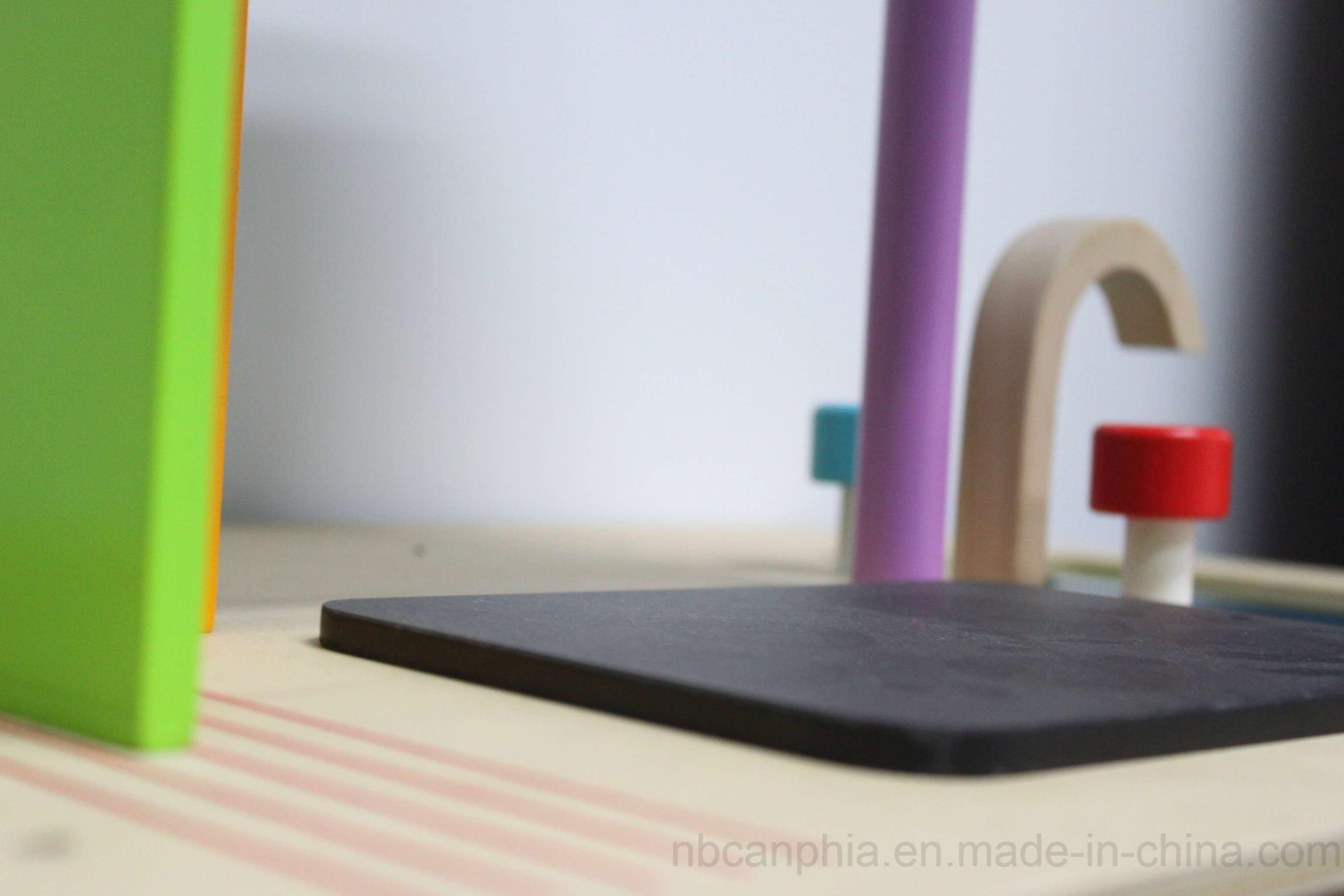 Wooden Kitchen Set Pretend Playset, DIY Wooden Toy for Kids
