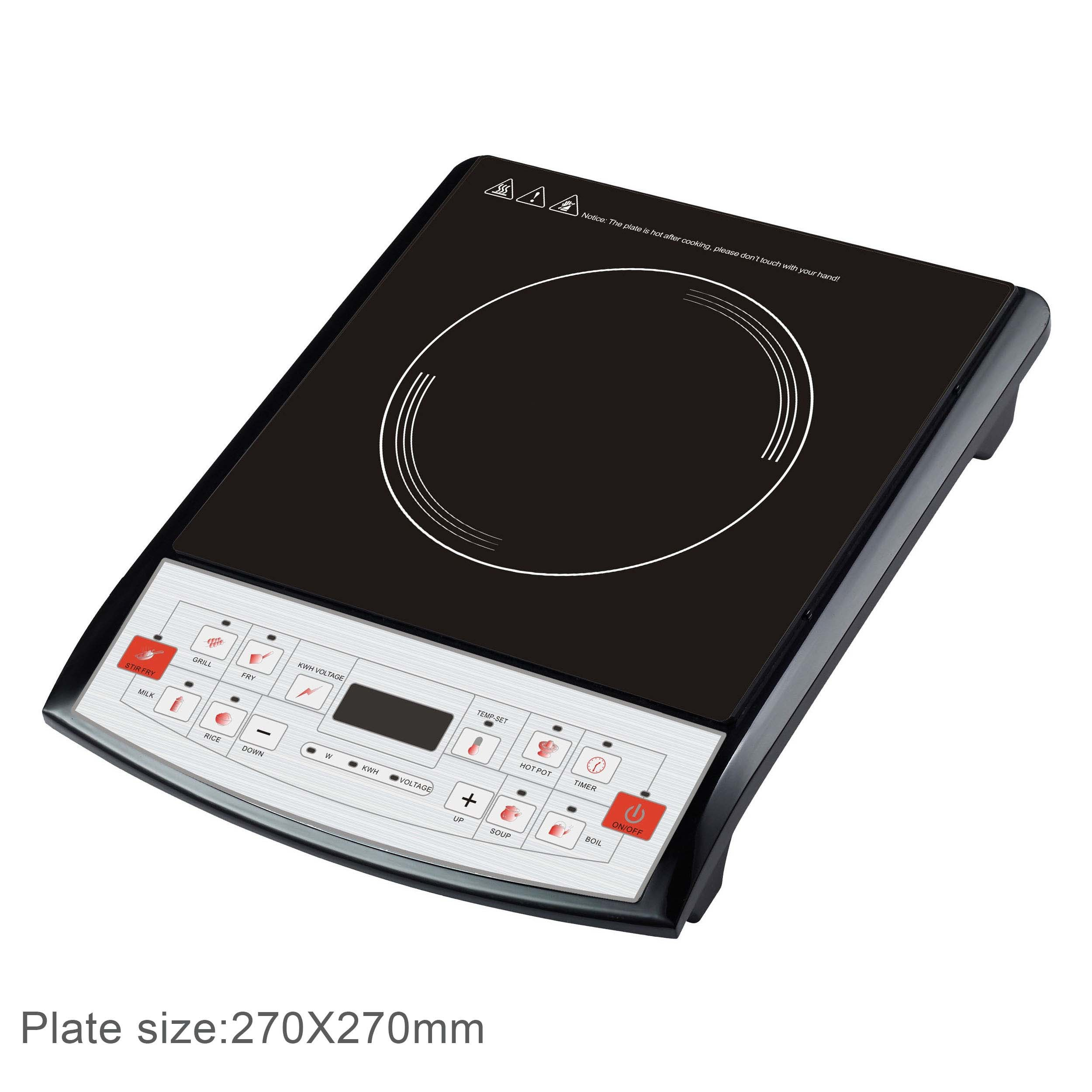 2000W Supreme Induction Cooker with Auto Shut off (AI35)