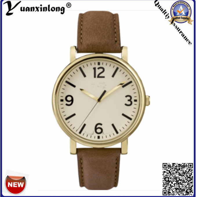 Yxl-116 Fashion Leather Watch Unisex Ladies Mens Brand Watches OEM Luxury Pormotional Wrist Watch Wholesale