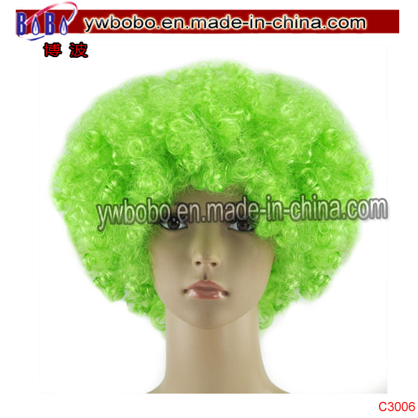 Christmas Gift Cosplay Costume Hair Afro Wig Party Supply (C3006)