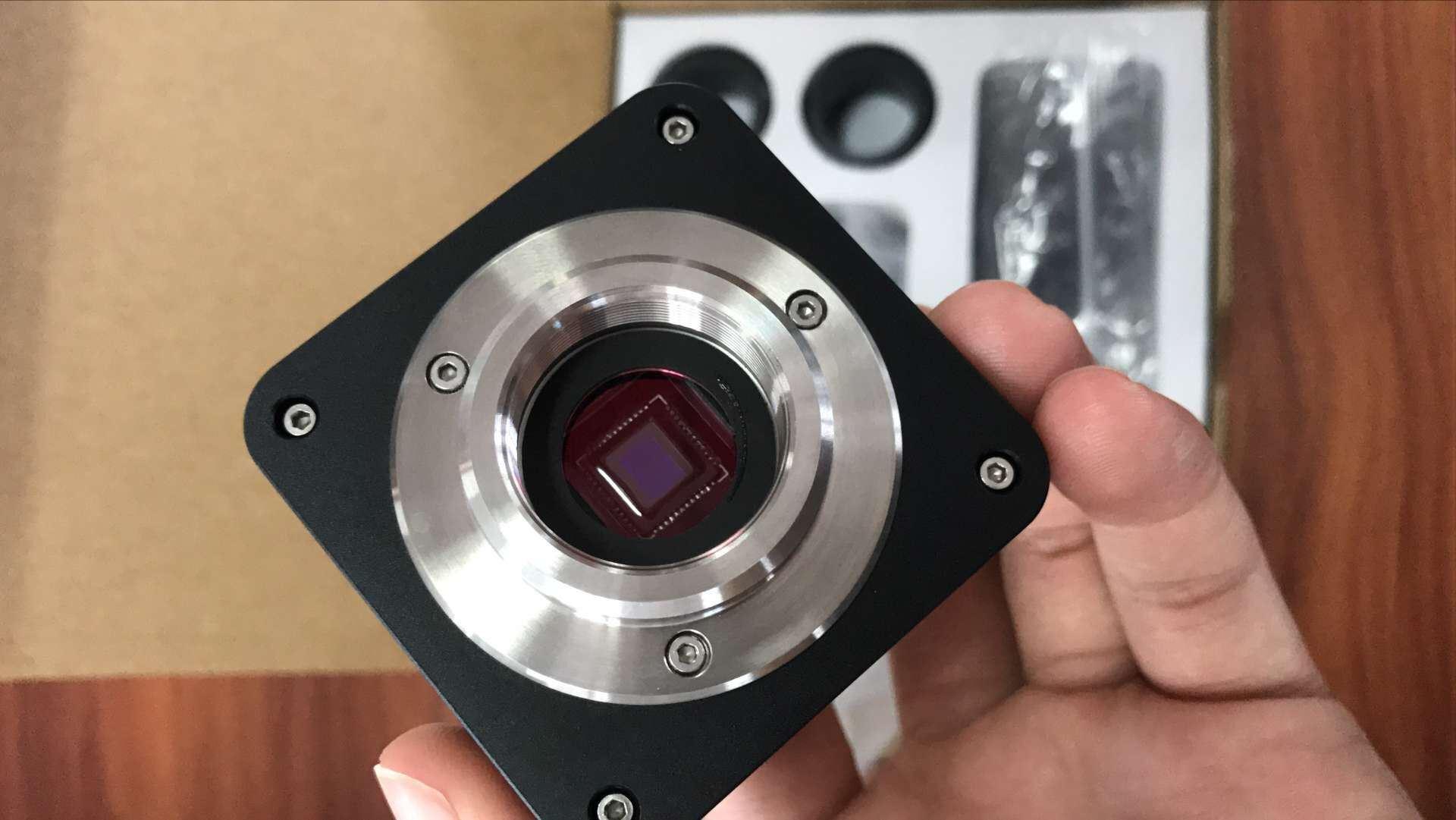 HD CCD Sensor 8.0MP Digital Microscopes Camera Eyepiece Camera C Mount Microscope Camera