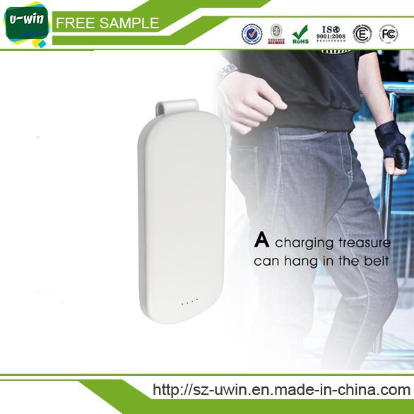 Metal Hook Function 5000mAh/4000mAh/10000mAh Rechareable Emergency Power Bank
