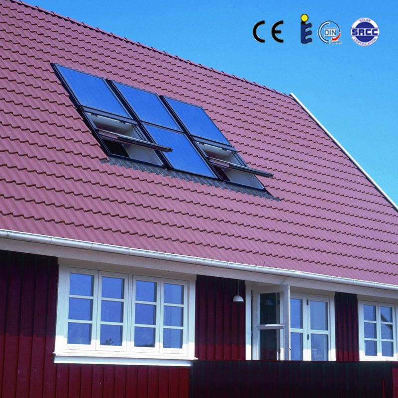 Flat Plate Solar Hot Water Panel