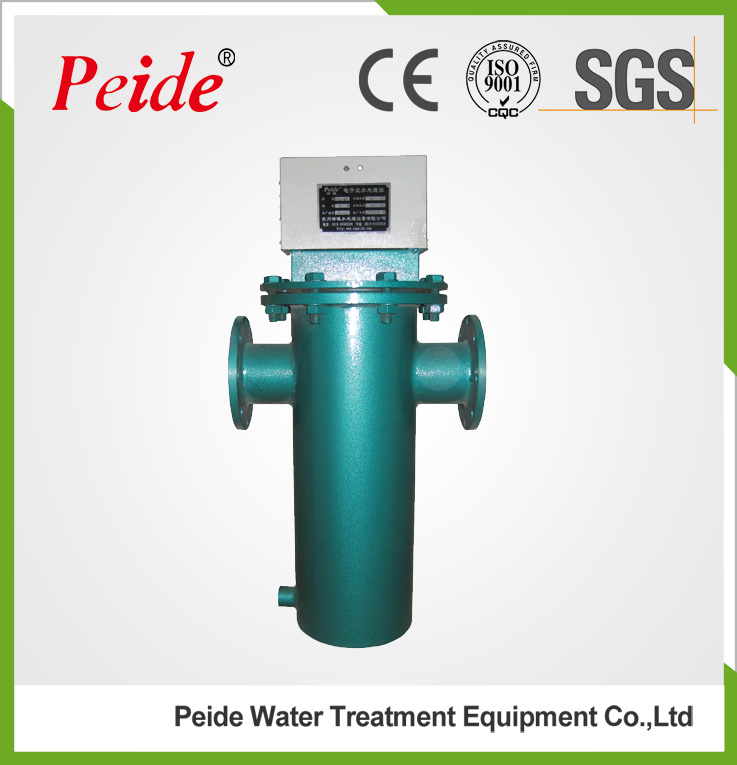 Industrial Electronic Water Descaler in Central Air Conditioning System