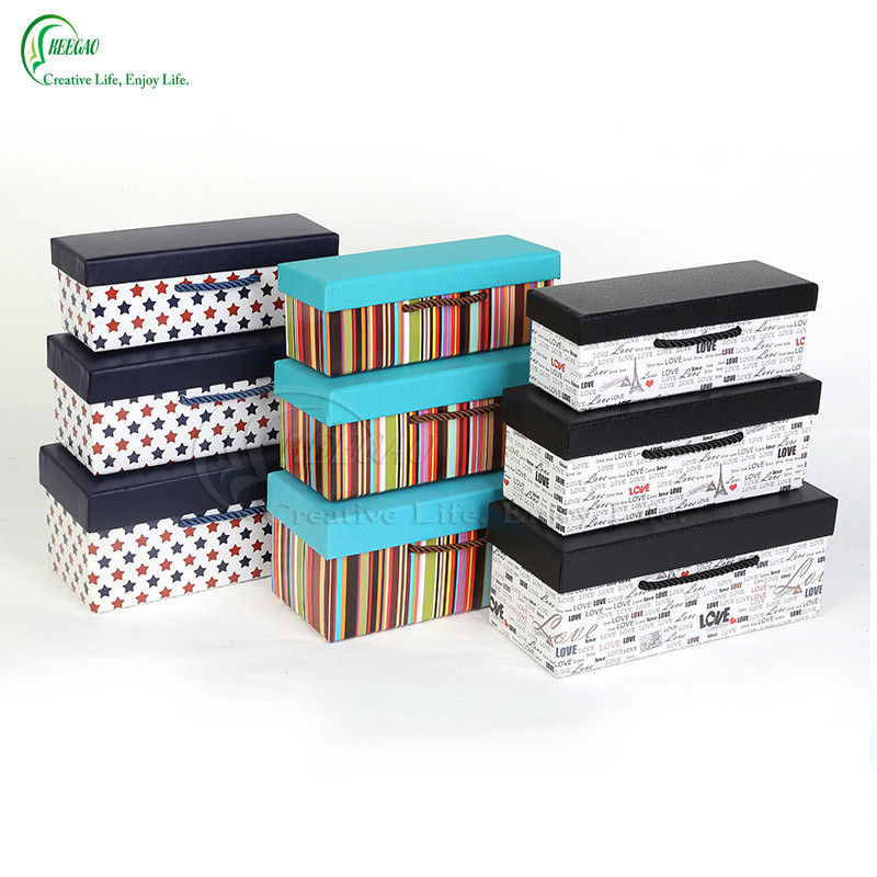 Hot Sale Colorful Printed Beautiful Gift Boxes Packaging Boxes (KG-PX063)
