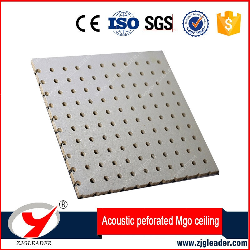 High Quality Perforation Fireproof MGO Ceiling Board