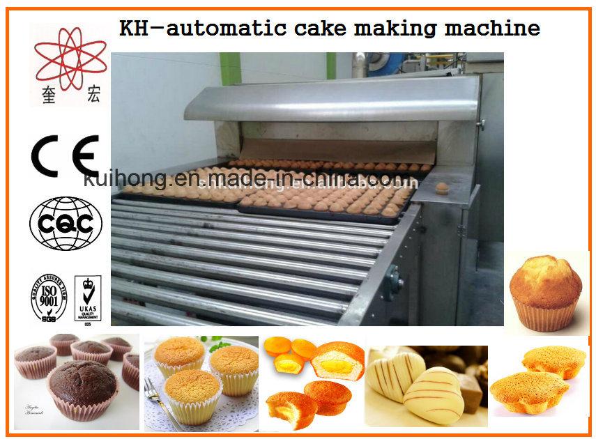 Kh-600 Custard Cake Making Machine for Sale