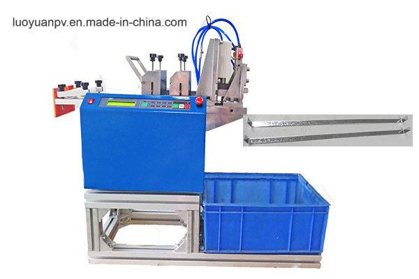 Double Glass Module Bus-Bar Bending&Cutting Machine