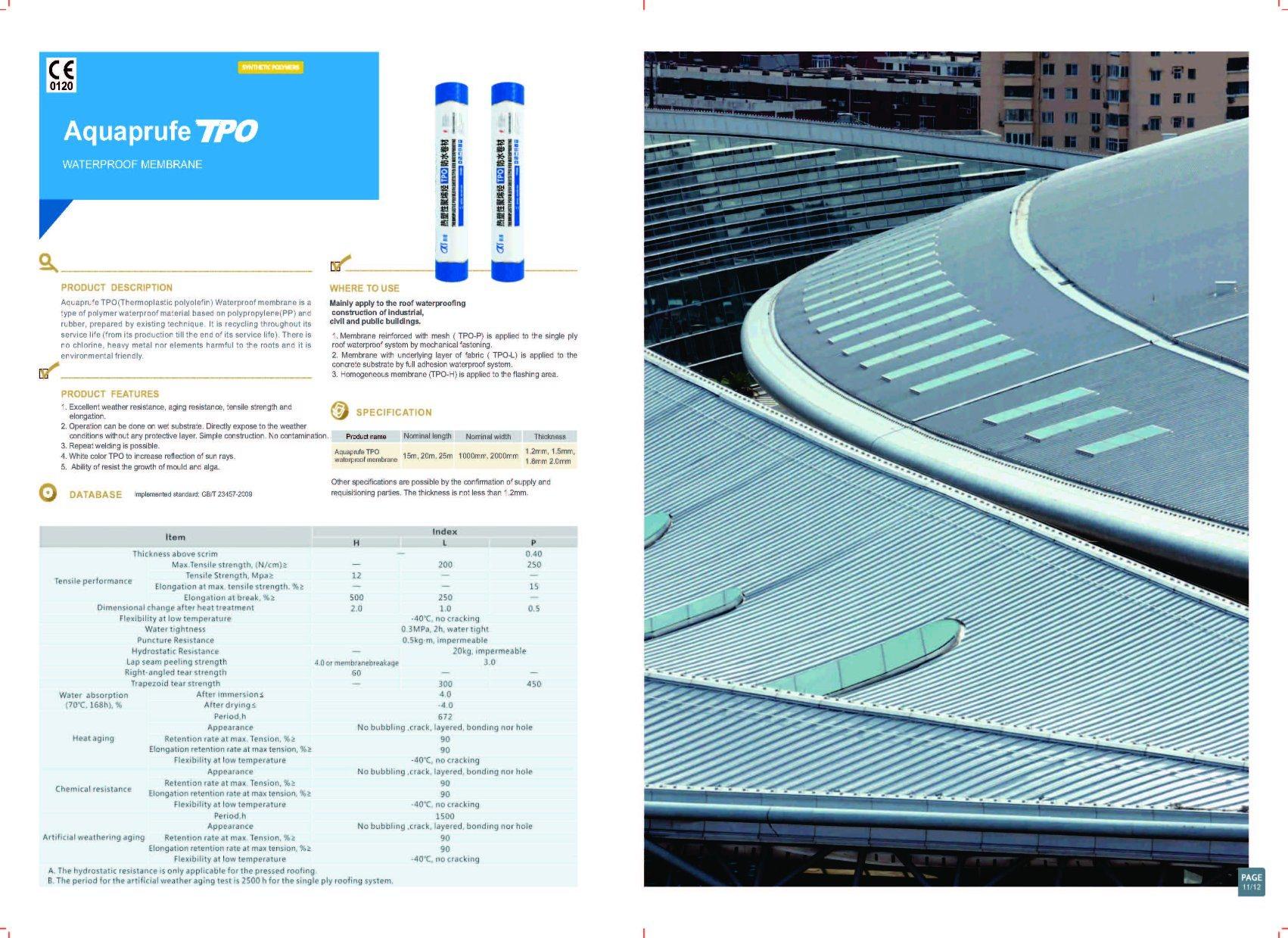 Tpo Waterproof Membrane