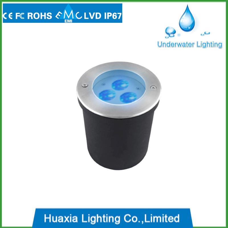 IP67 Aluminum LED Recessed Inground Garden Light