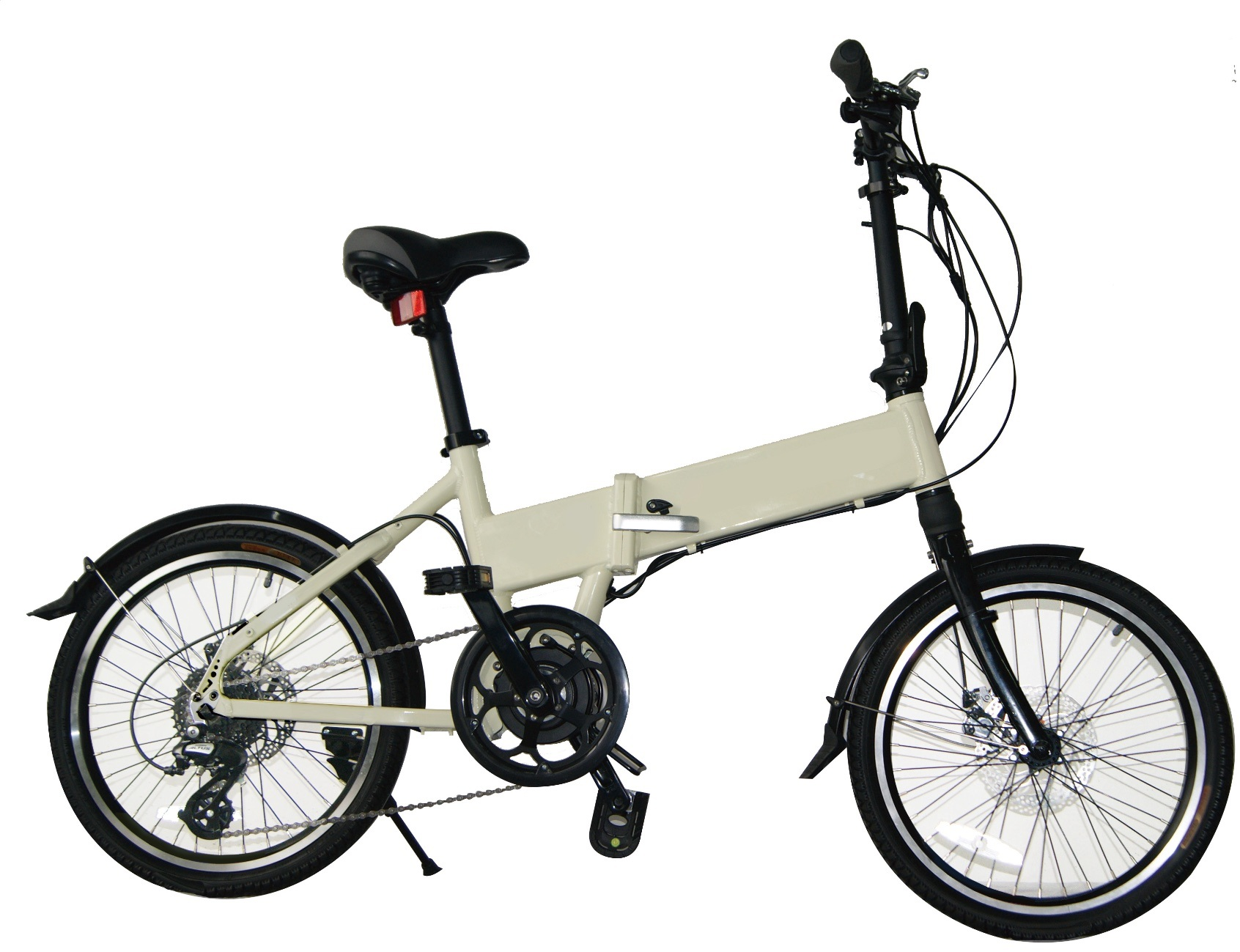 Electric Folding Bike Bicycle with MID-Mounted Motor