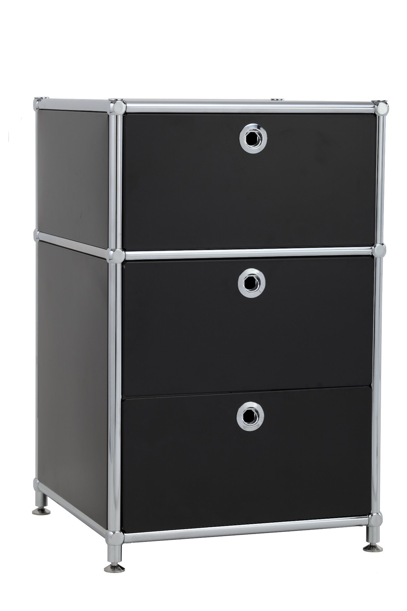 Customizable Simple Style Durable Stainless Steel Filing Cabinet