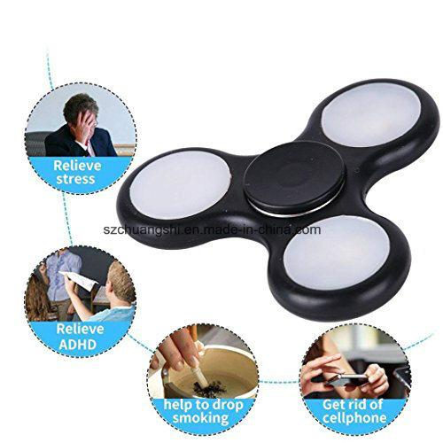 2017 New Hot Hand Spinner Professional Hand Spinner Toys Educational Toys LED Flashing Hand Fidget