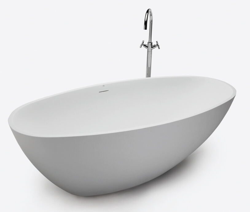 Soaker Freestanding Bathtub with Slotted Overflow