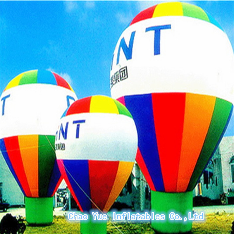 Outdoor Customized Giant Inflatable Ground Balloon for Advertising