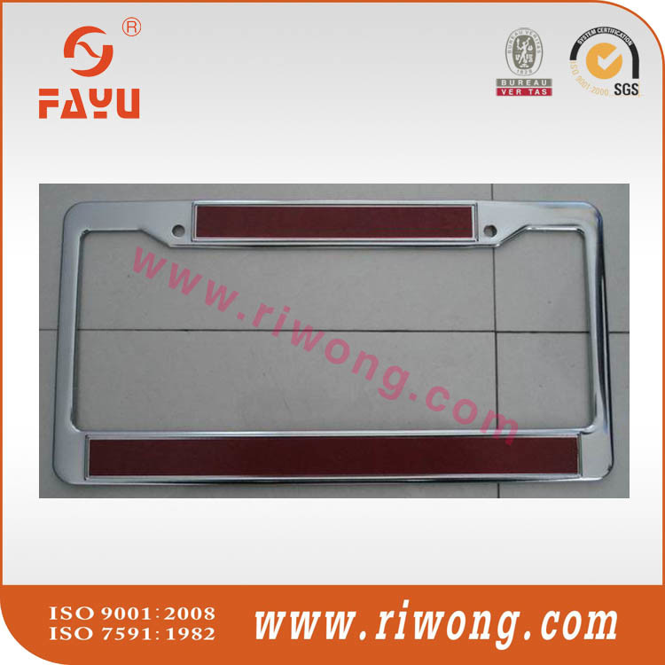 2017 Auto Accessories Custom Sticker Number Plate Holder
