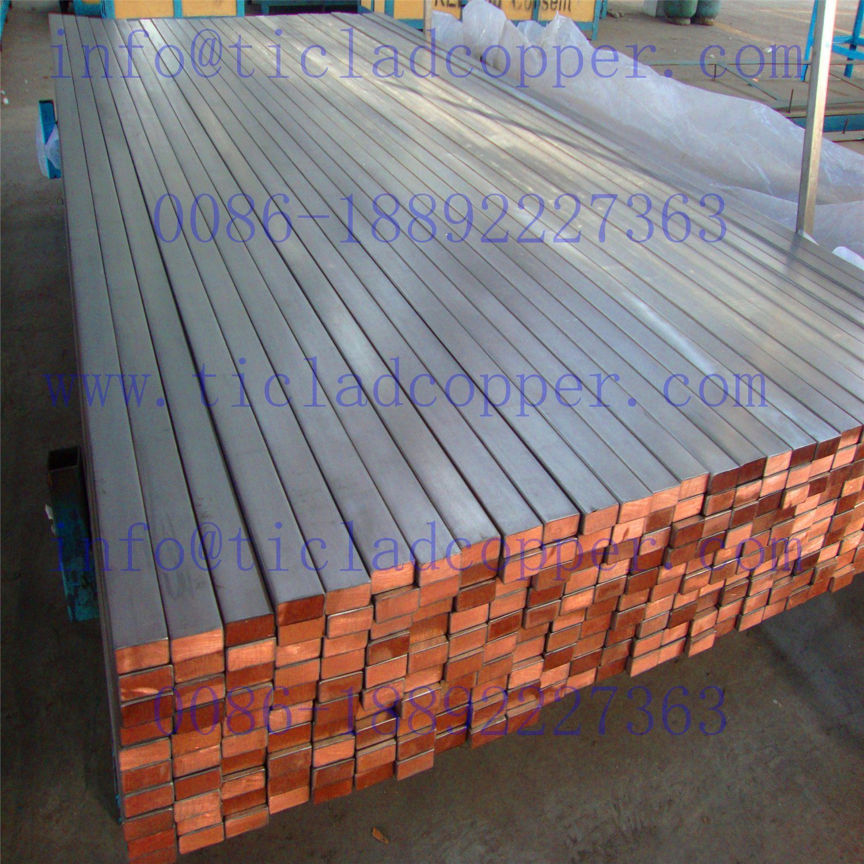 Titanium Clad Copper Bus Bar Anode for Eletrolysis