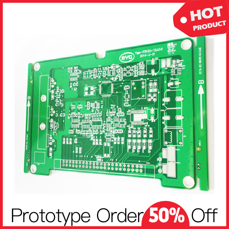 100% Full Test Advanced Fr4 Rigid PCB