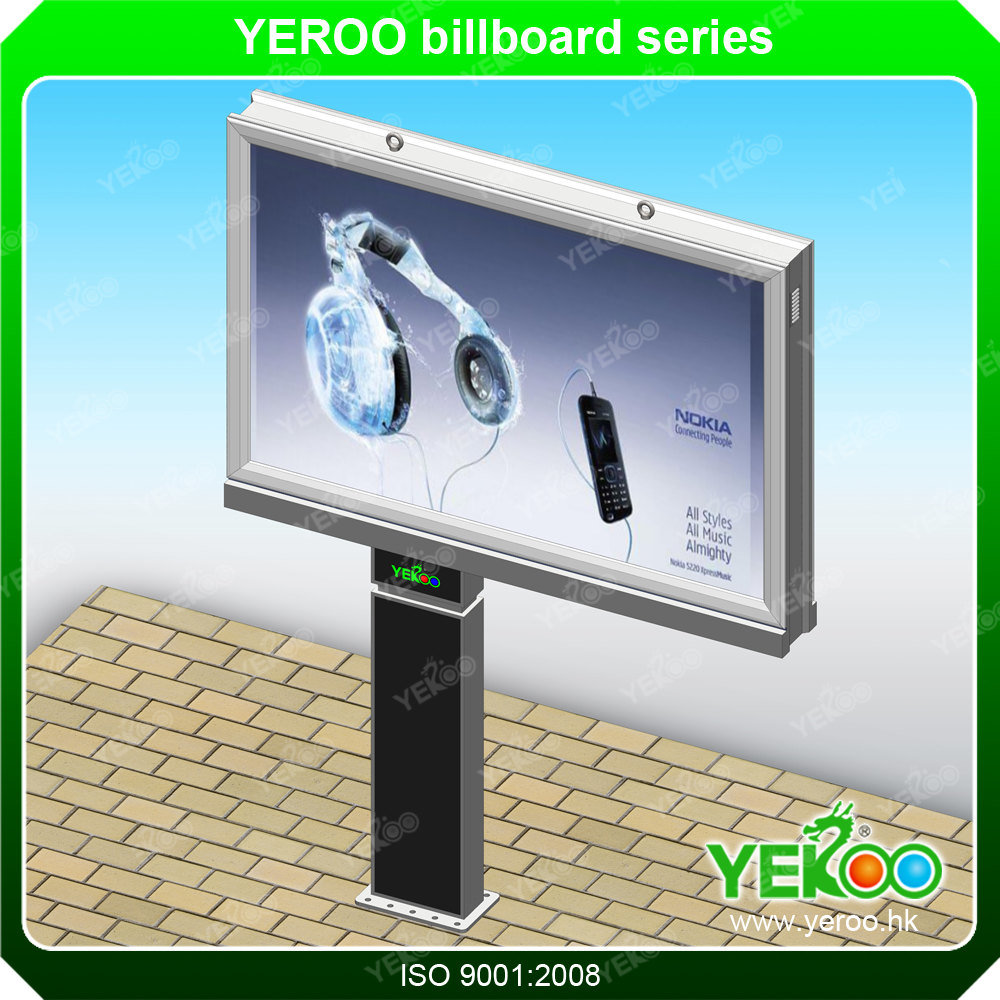 High Quality Advertisement Waterproof Advertising Scrolling Billboard Display