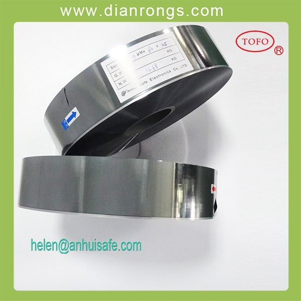 Al/Zn Metallized Capacitor Grade Film (BOPP, PET)