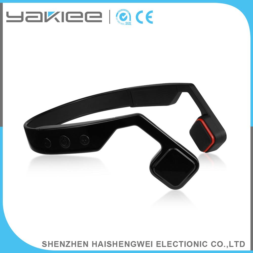 Mobile Phone Black Wireless Bone Conduction Bluetooth Headset