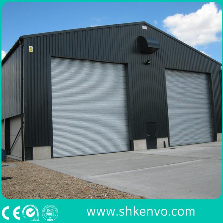 Metal or Aluminum Alloy Industrial Motorized Automatic Overhead Roller Shutter Warehouse Garage Door