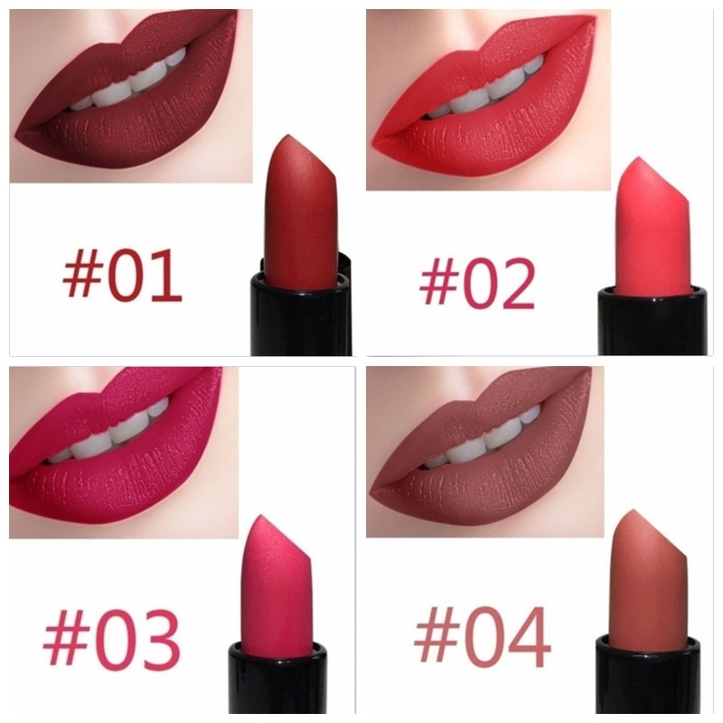 New Sexy Makeup Matte Lipstick Long Lasting Waterproof Cosmetics