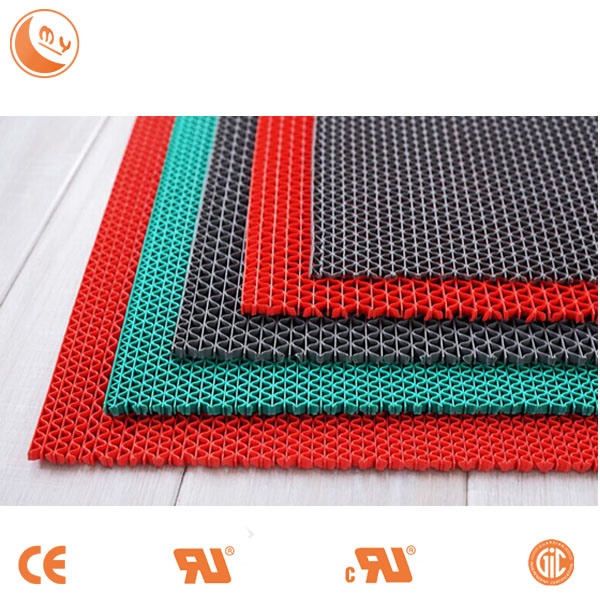 Modern Design Plastic Floor Mat, Anti Slip PVC S Mat Roll for Boat, Bathroom and Swimming Pool