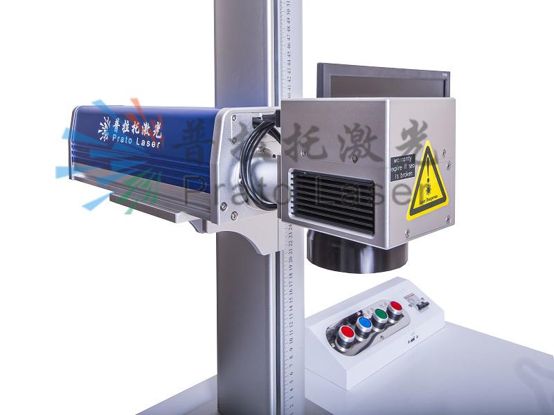 Logo and Ring CNC Fiber Laser Marking Machine / Metal Marking