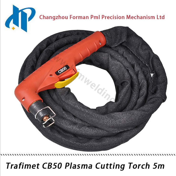 Trafimet CB50 Portable Plasma Welding Torch 5m with Central Connector