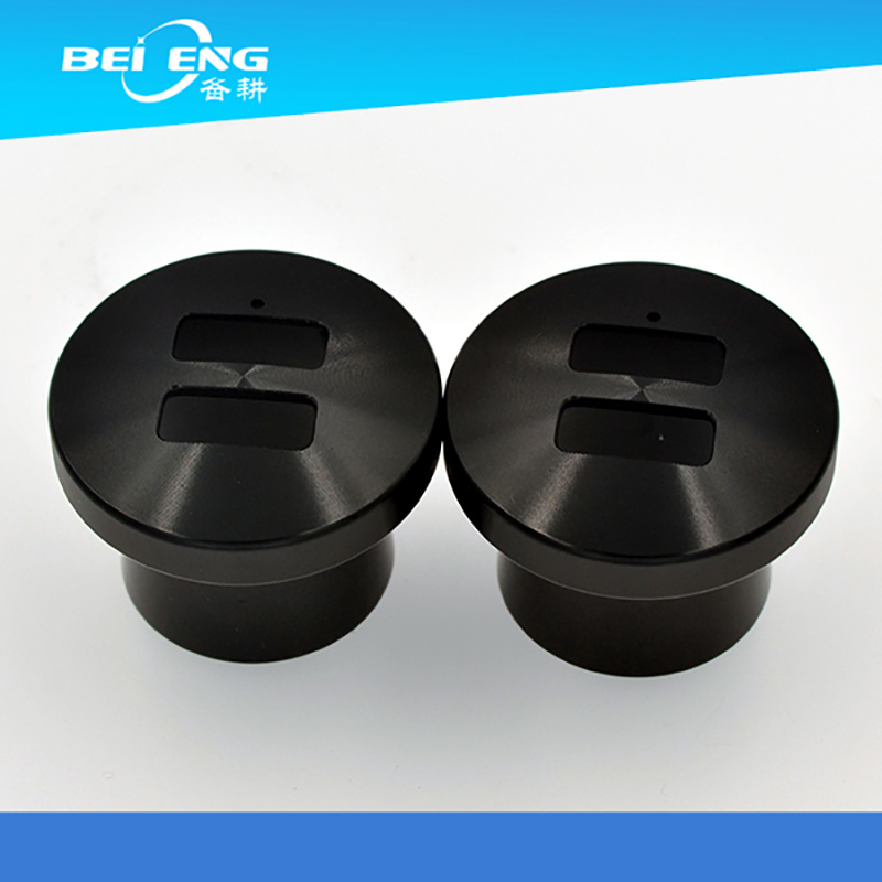 Black Anodized Metal Charger Accessories / Auto Parts by Guangdong Factory