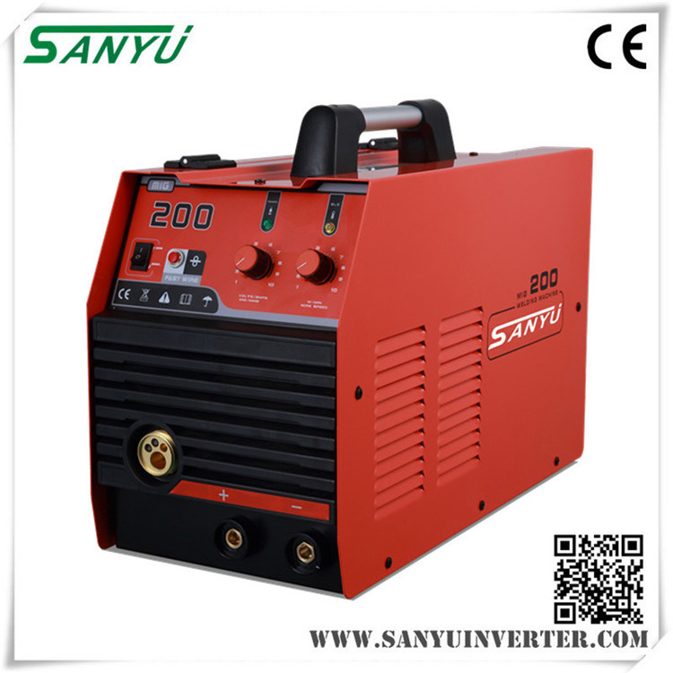 Shanghai Sanyu 2017 New Developed High Quality MIG IGBT Inverter Welding Machine