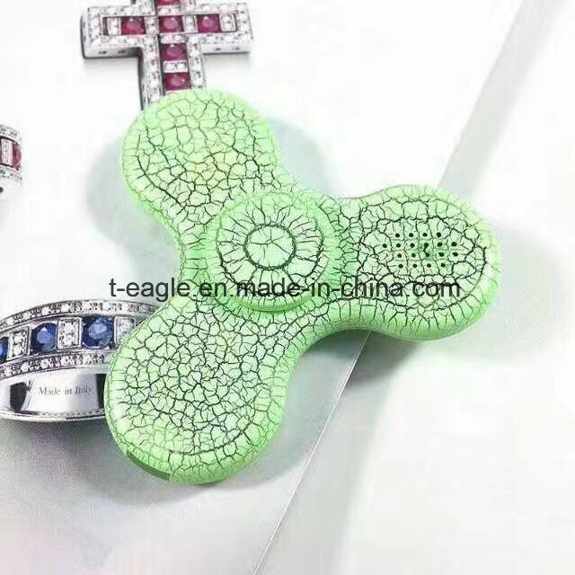 2017 New Model LED Bluetooth Speaker Music Hand Spinner EDC Fidget Spinner