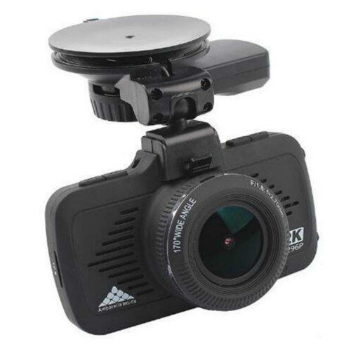 HD 1296p Ambarella Car Crash Dash GPS Camera