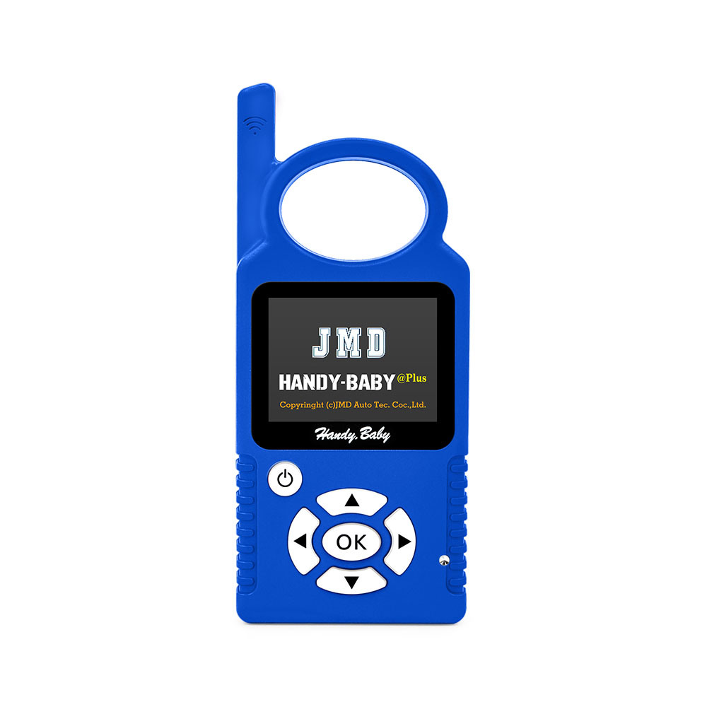 Original Blue Color Handy Baby Cbay Hand-Held Car Key Programmer New 8.1.0 Auto Key Copy for 4D/46/48 Chips Cbay Chip Programmer