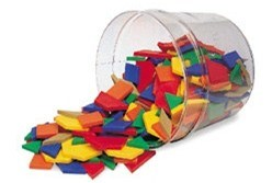 Learning Resources Magnetic Pattern Block Activi : Target