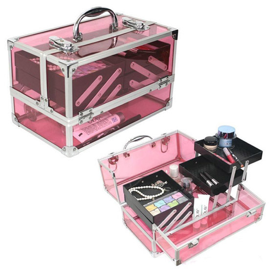 China Acrylic Makeup Case Mc025 China Acrylic Makeup