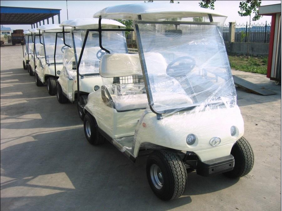 Coche eléctrico del golf con el pedal del carrito (GLT2021 ...