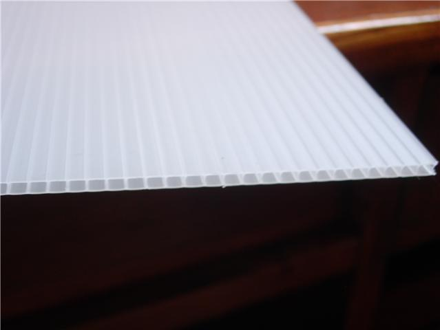 Clear Corrugated Plastic Sheets 4X8