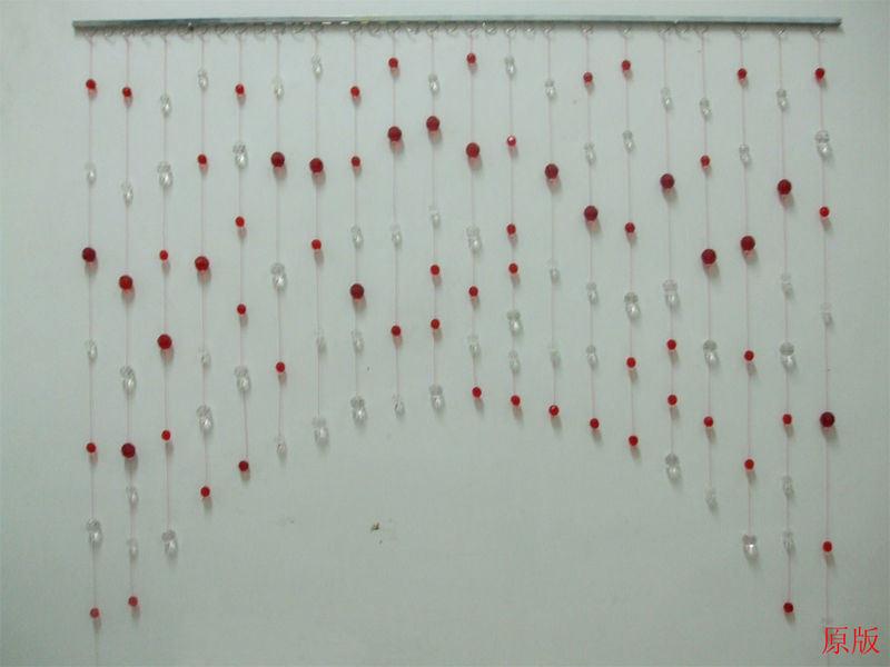 Bead Crystal Shower Curtain