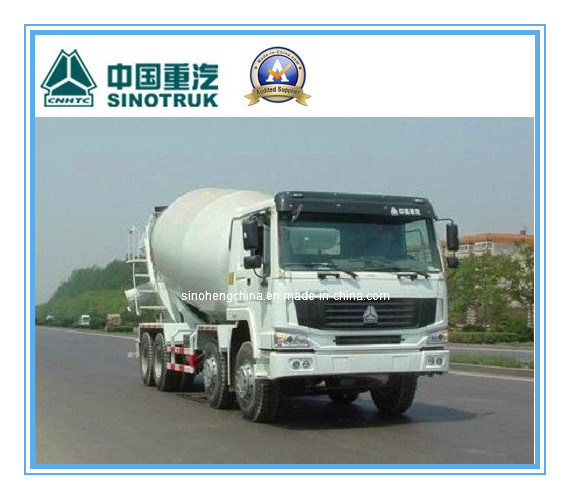 12m3 336HP Sinotruk HOWO 8X4 Mixer Truck with Competitive Price