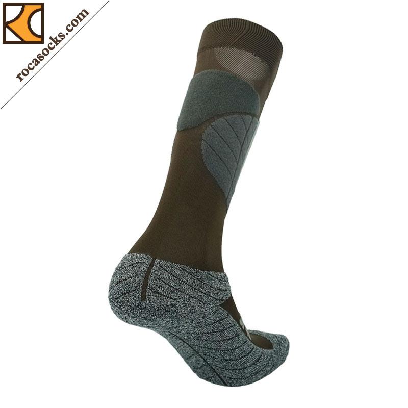 Men′s Thermolite Cotton Ski PRO Light Socks (161003SK)