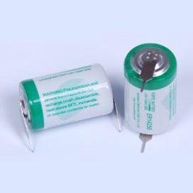 1/2AA Lithium Battery Er14250 3.6V 1.2ah