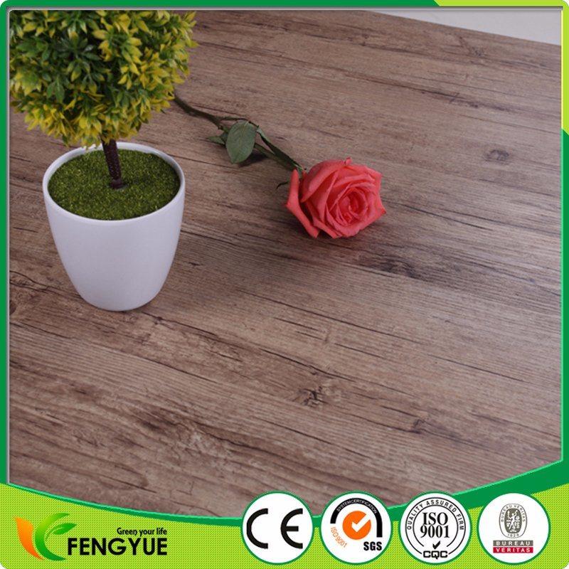 PVC Vinyl Flooring Wood Grain with UV Coating