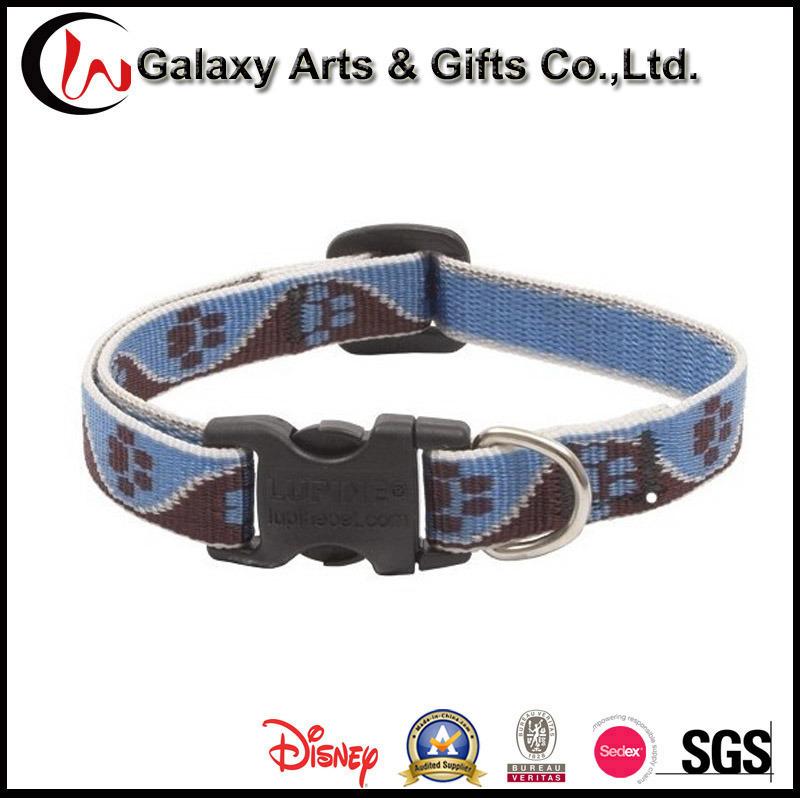 Best Selling Quality Custom Polyester Purple Dog Collars