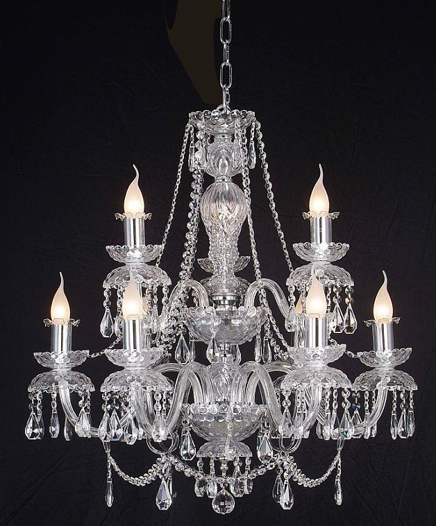 Empire Basket Chandeliers - The Crystal Chandelier Company, Lead